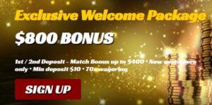 All Jackpots Live Casino Bonus