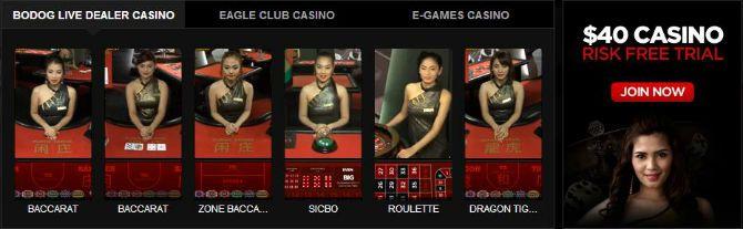 Bodog Live Casino