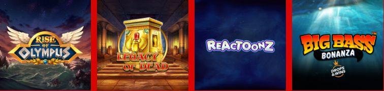 Captain Spins Casino Games Slot