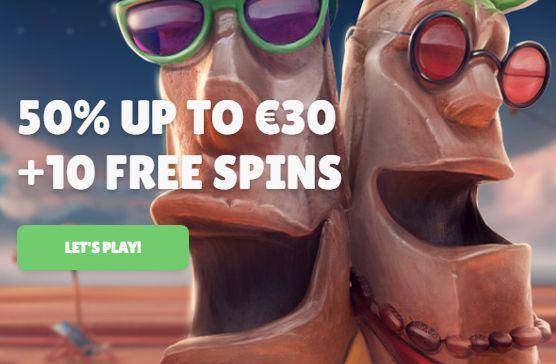Cashmio Casino Welcome Bonus