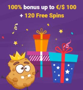 Cookie Casino Bonus