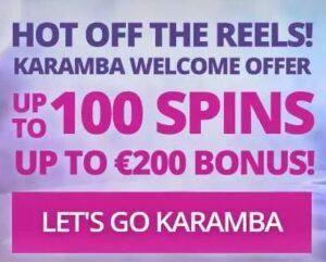 Karamba Casino Welcome Bonus