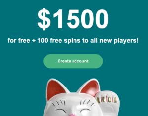 Lucky Days Live Casino Bonus