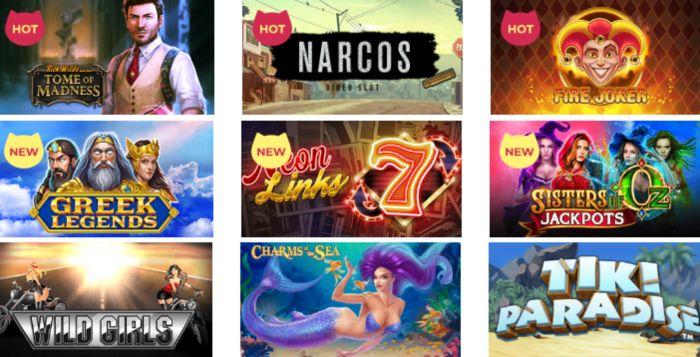 Maneki Casino Canada Games Live