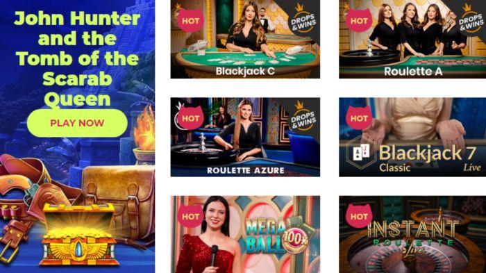 Maneki Casino Canada Games
