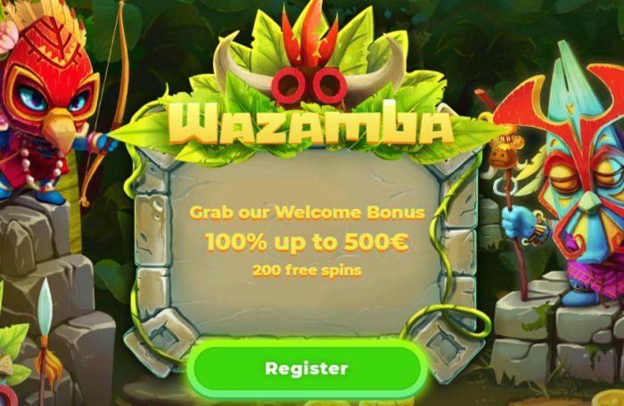 The Welcome Bonus Of Wazamba Casino