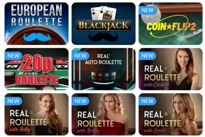 Mr Play Live Casino