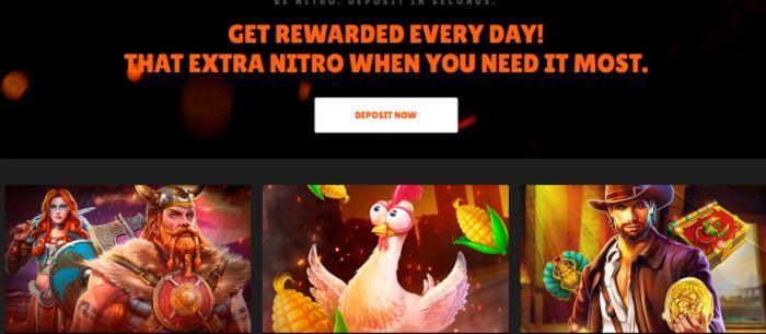 Promos Of Nitro Casino
